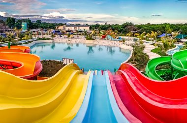 astoria palawan waterpark slide