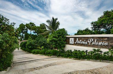 astoria palawan entrance